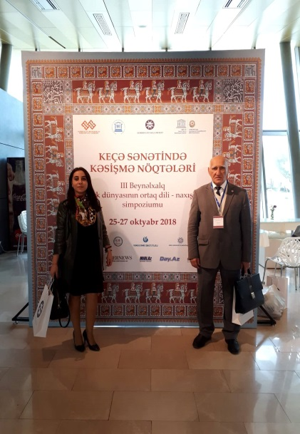 "The 3rd International Symposium on ""Common Language of the Turkic World - Ornaments"" was held in Baku on October 25-27, 2018"