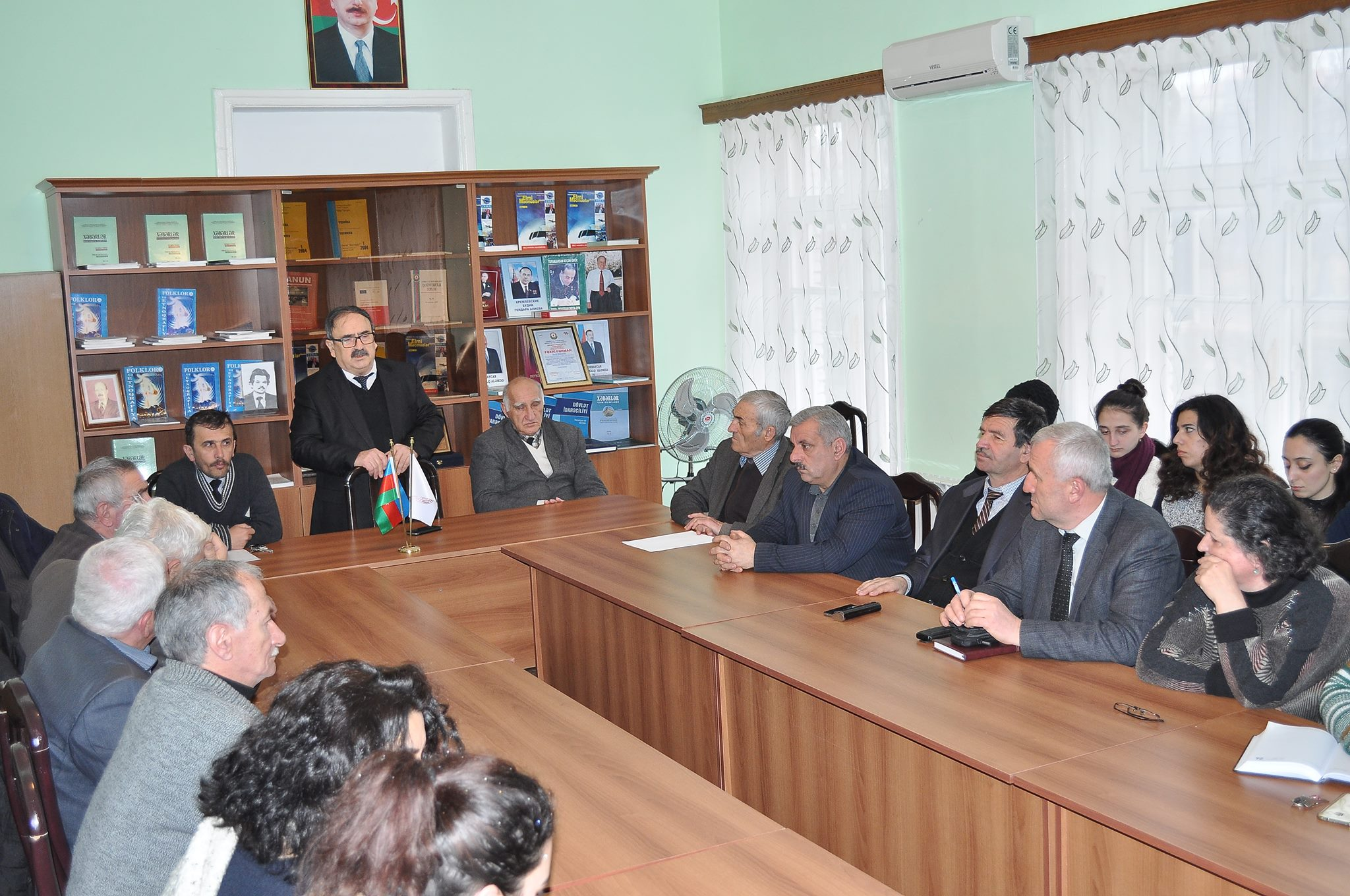 The event related January 20 has been realized in  ANAS, Sheki Regional Scientific Center.
