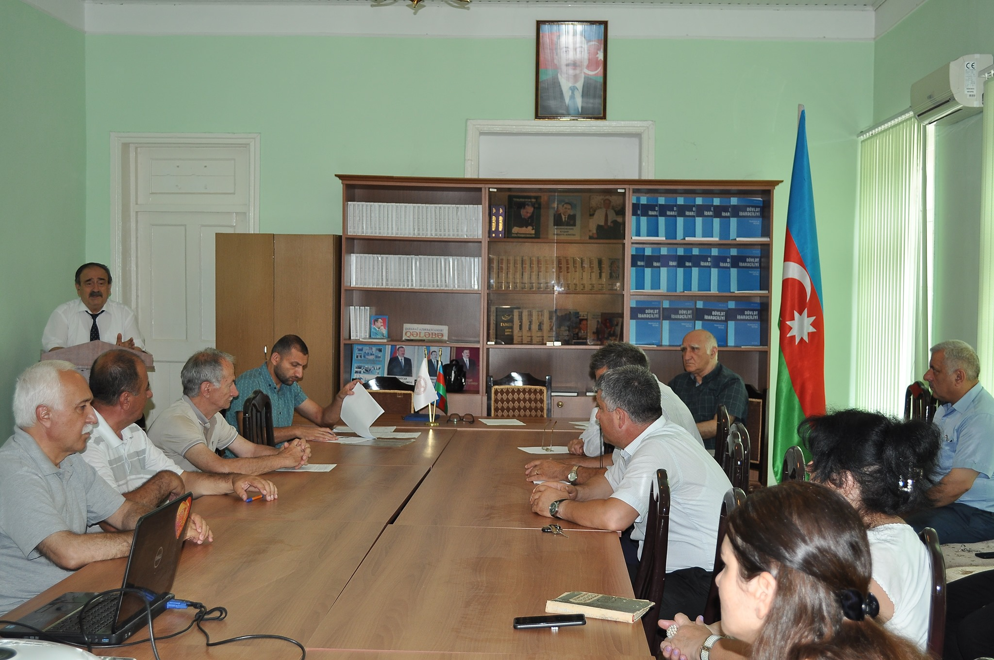 The next scientific council of ANAS Sheki RSC was held on June 30, 2021