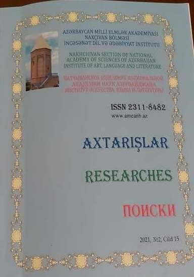 AN ARTICLE OF OUR EMPLOYEE WAS PUBLISHED IN SCIENTIFIC JOURNAL OF ANAS NAKHCHIVAN BRANCH