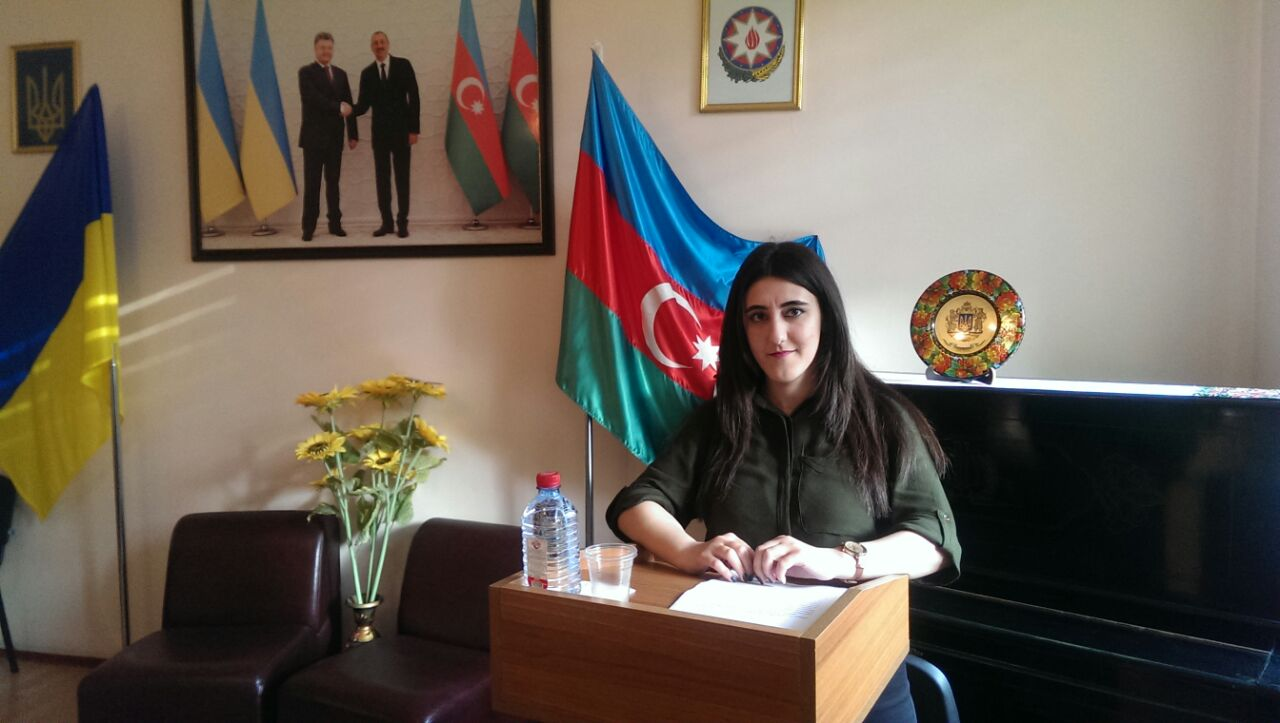 Tarana Mammadova, a junior researcher at the Department of Folklore Studies and Crafts of ANRE, Institute of Literature named after Nizami Ganjavi, participated at the IX International Scientific Conference organized by the Baku Slavic University on May 3-4, 2018.