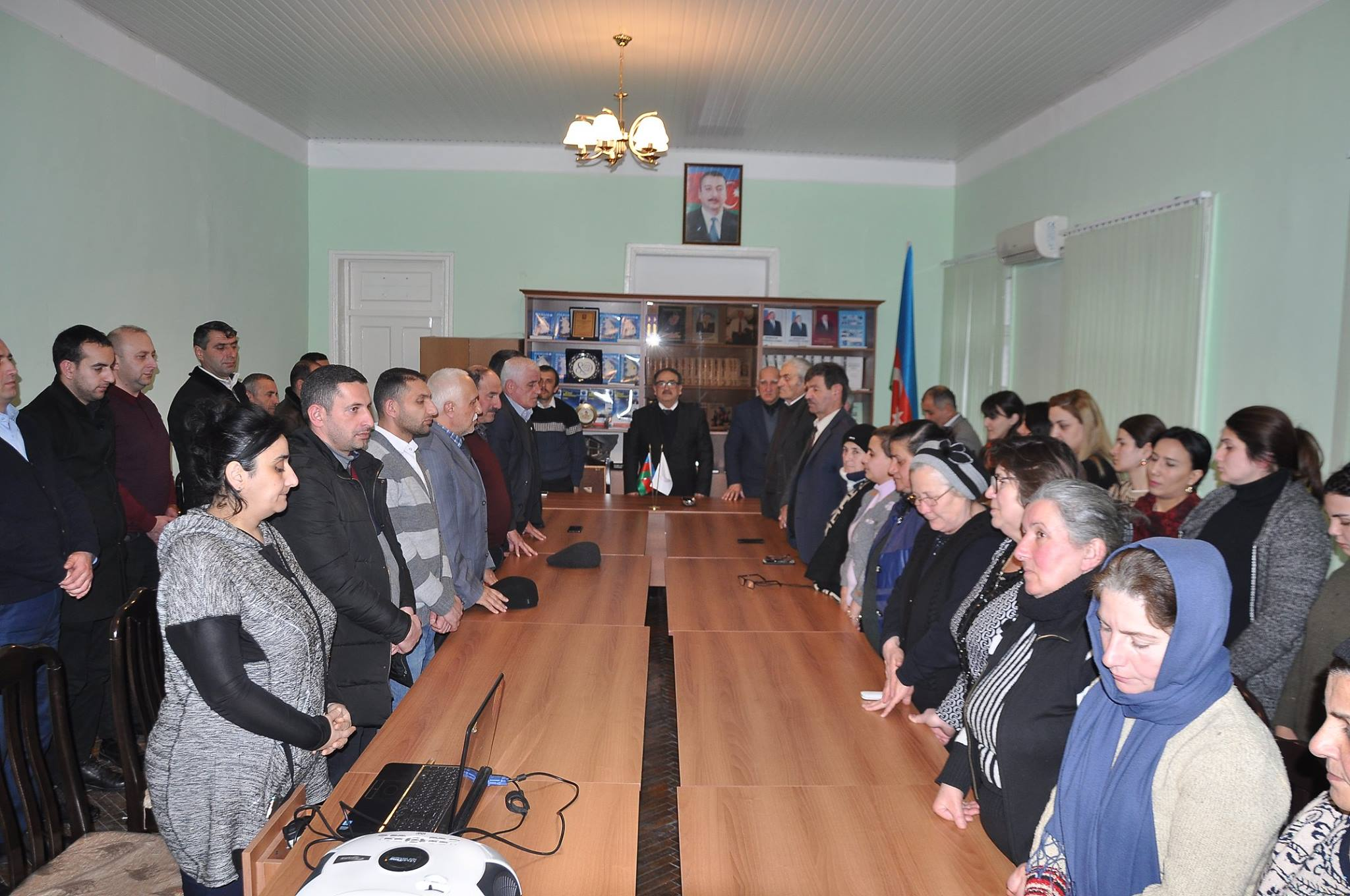 The collective of ANAS Sheki Regional Scientific Center had held a conference dedicated to January 20, 2019 tragedy