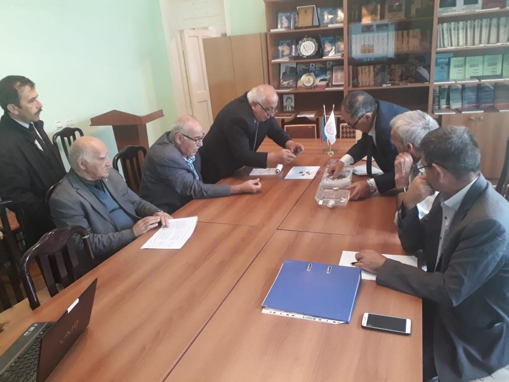 On September 09, 2019 the discussion of the works was realized for the cooperation between ANAS Institute of Molecular Biology and Biotechnologies and Scientific Center in Sheki Regional Scientific Center