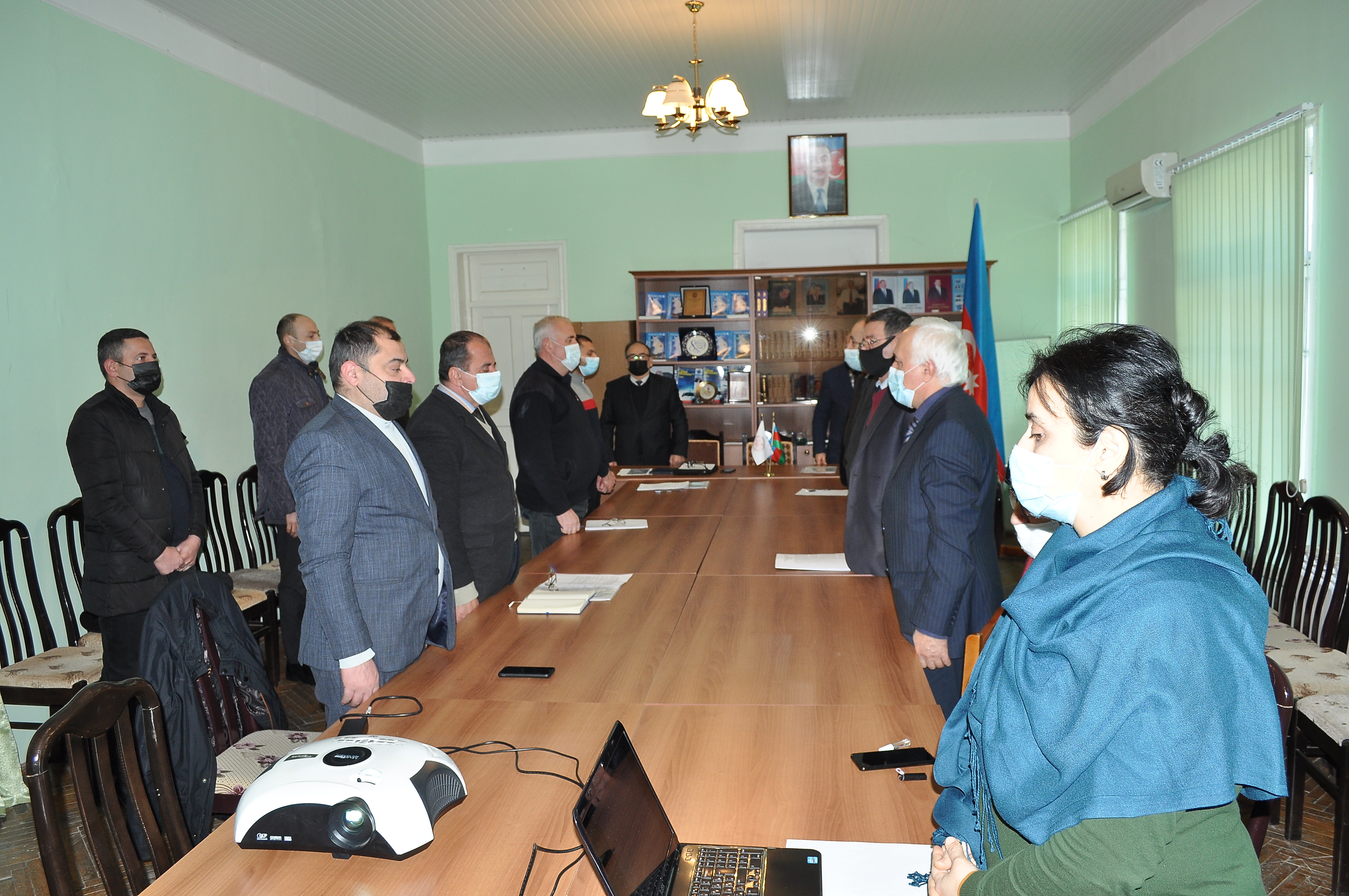 The first meeting of scientific council of SRSC of ANAS was held in January 22, 2021