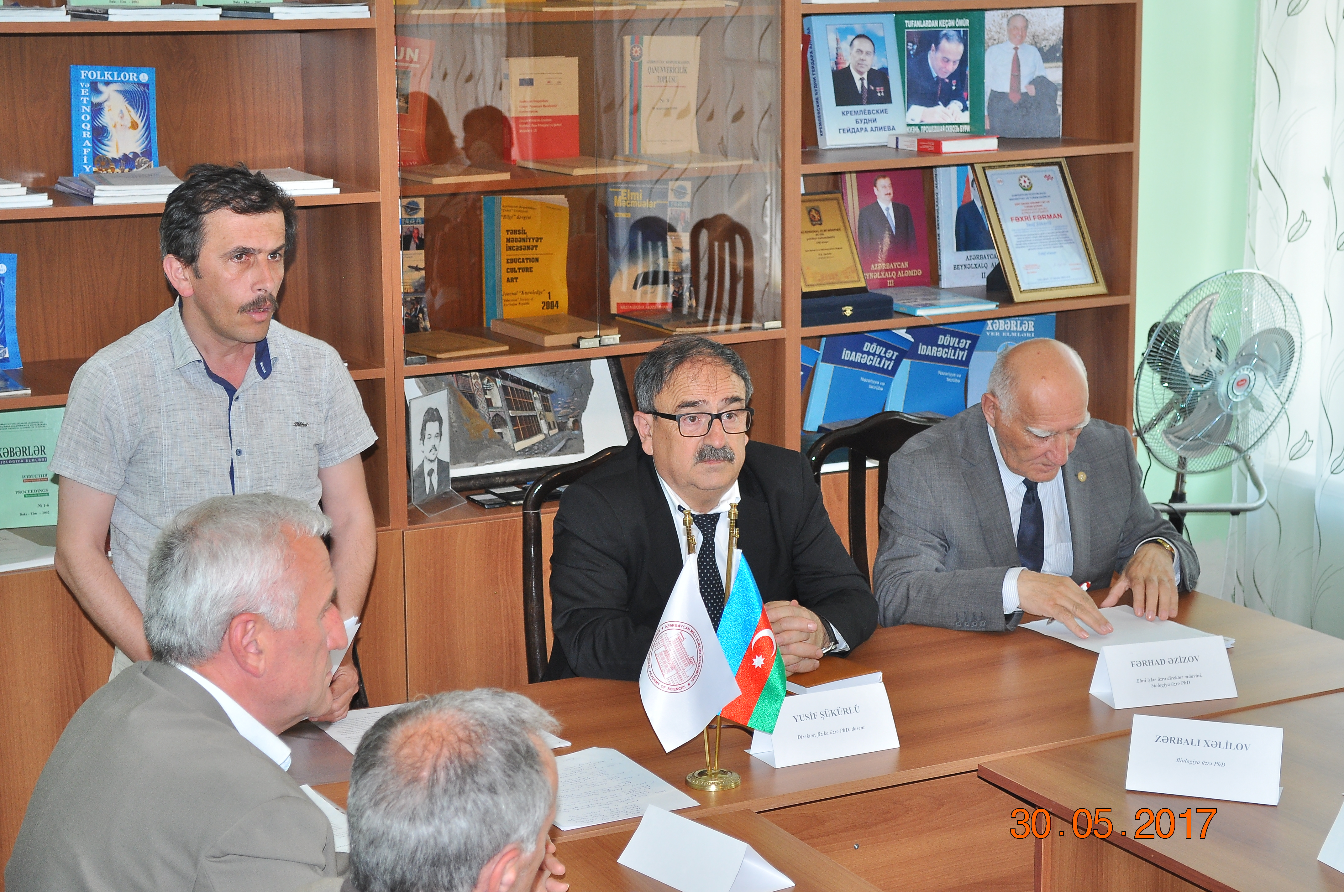 The last meeting of Scientific Council was held in Sheki Regional Scientific Center.