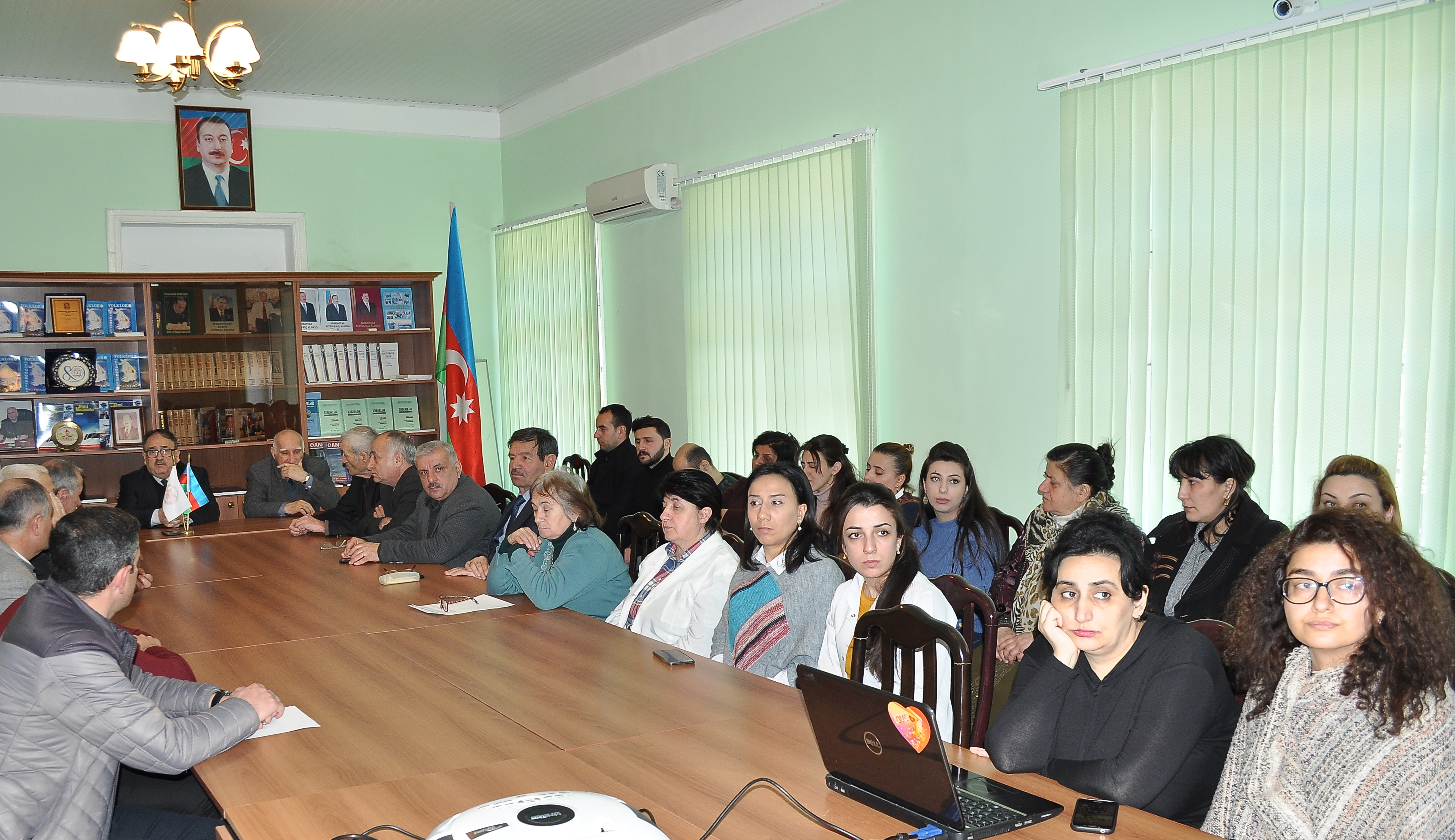 The ceremony dedicated to the 26th anniversary of the Khojaly massacre was held in Sheki Regional Scientific Center of ANAS
