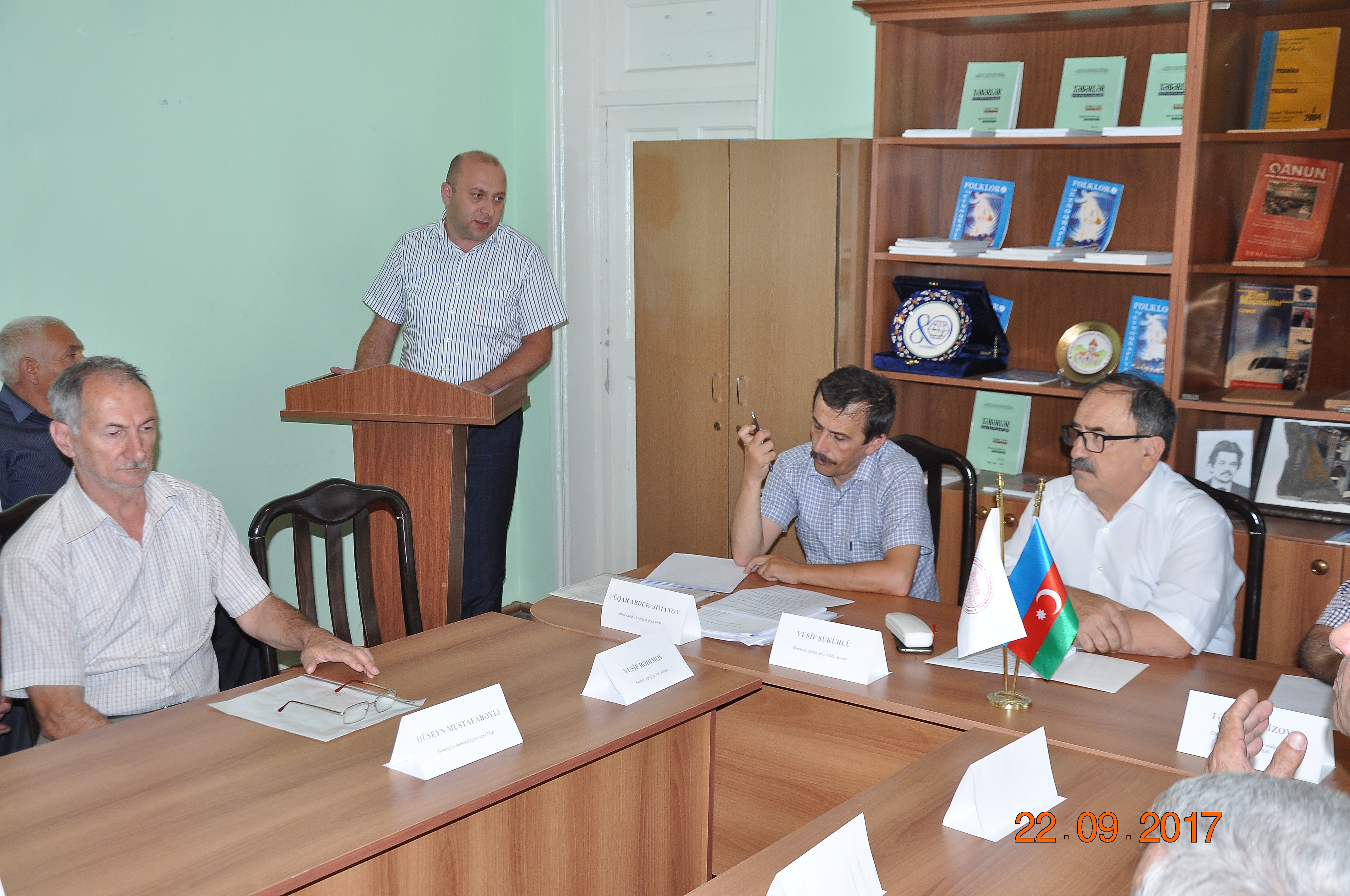 Scientific Council of ANAS SRSC