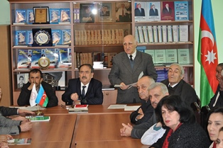 The meeting of Scientific Council of ANAS SRSC