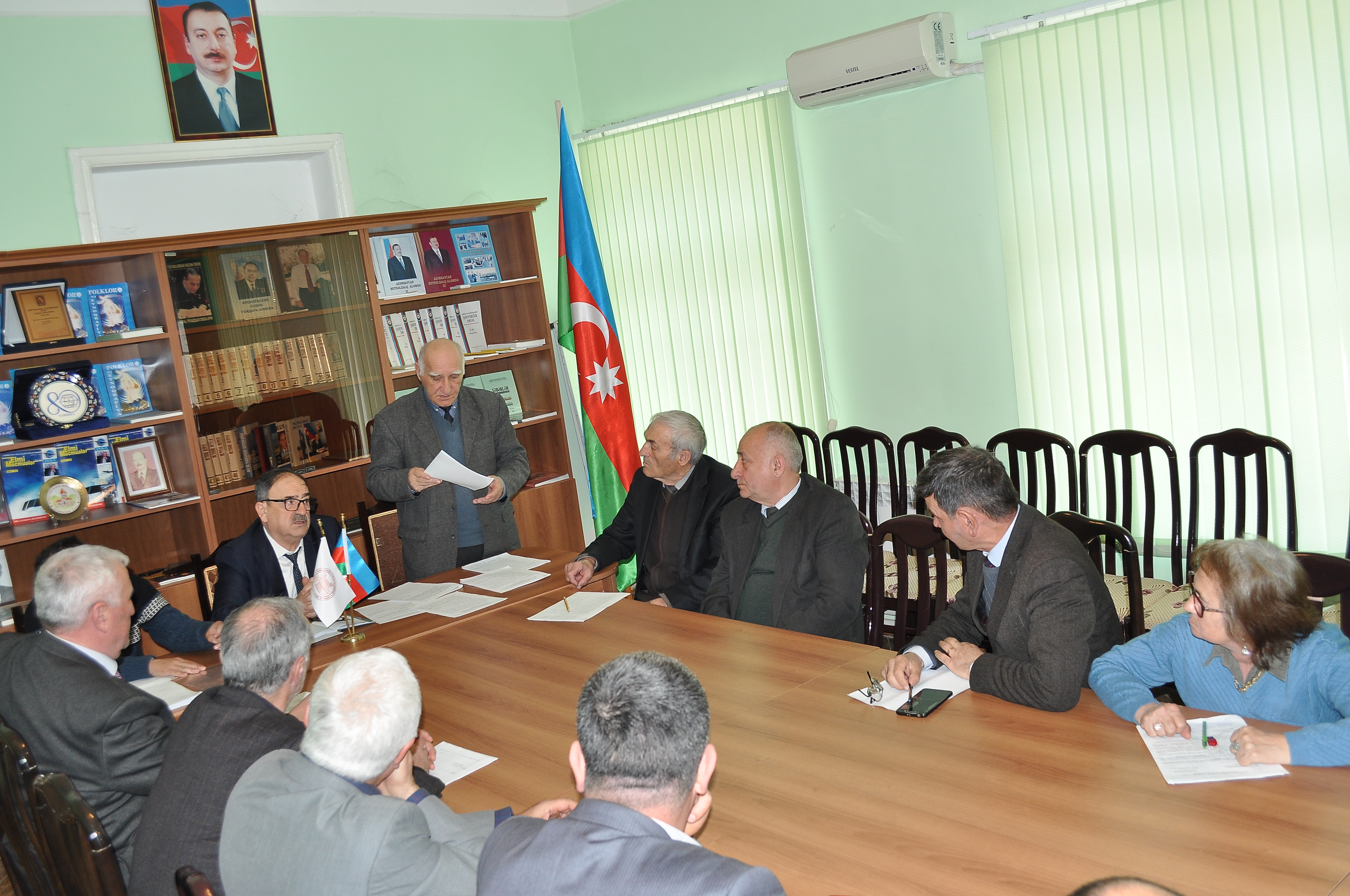 On March 06, 2020 the next meeting of ANAS Sheki Regional Scientific Center was held