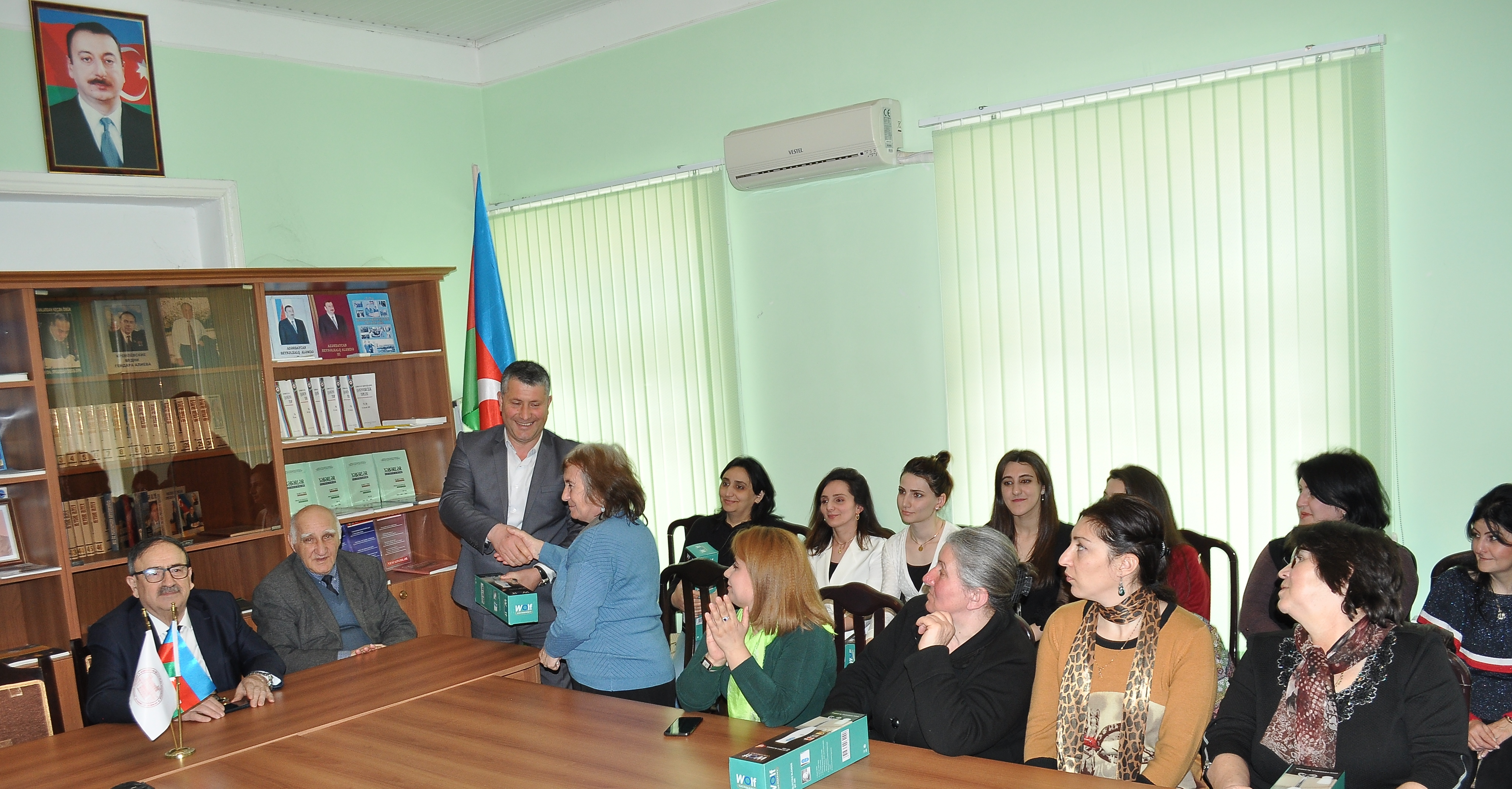 On March 06, 2020 the ceremony dedicated to International Women's Day was held by Trade Union of Sheki Regional Scientific Center