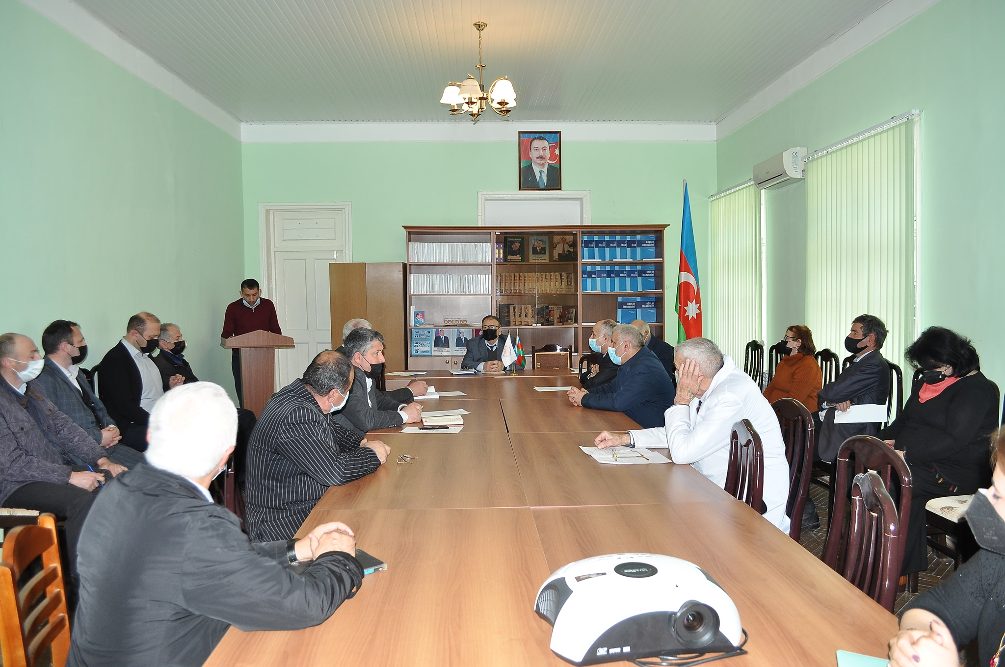 The next meeting of the Scientific Council of Sheki RSC of ANAS was held on April 02, 2021